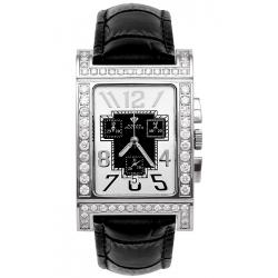 Aqua Master Cabarnet 5.20 ct Diamond Womens Leather Watch
