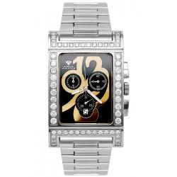 Aqua Master Cabarnet 5.60 ct Diamond Womens Steel Watch