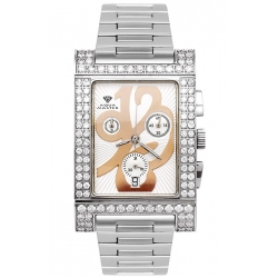 Aqua Master Cabarnet 3.75 ct Diamond Womens White Dial Watch