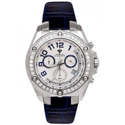 Aqua Master Solly 1.70 ct Diamond Mens Steel Watch