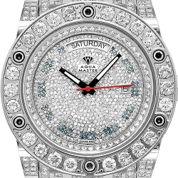 Aqua Master Magnum 22.00 ct All Way Diamond Mens Watch