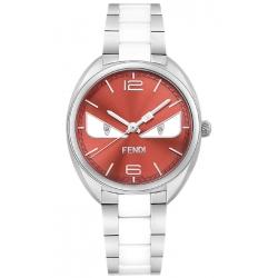 F216037104D1 Fendi Momento Bugs Eye Ceramic Womens Pink Watch