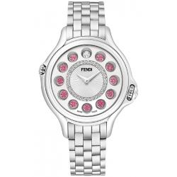Fendi Crazy Carats 38 mm Silver Dial Womens Watch F107034000D2T05