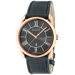Gucci Handmaster Automatic 18K Pink Gold Watch YA135302