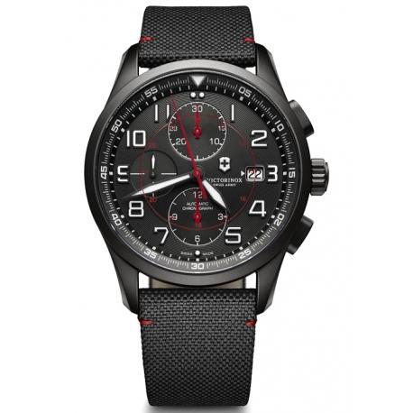 Swiss Army Airboss Mechanical Mens Black Watch 241721