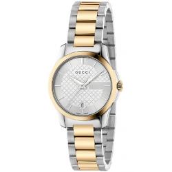 Gucci G-Timeless 27 mm Two Tone Womens Watch YA126531
