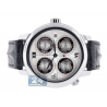Jacob & Co World GMT Silver Dial Mens Watch GMT-6SS