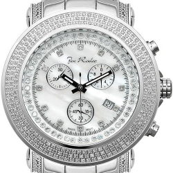 Mens Diamond White Dial Watch Joe Rodeo Junior JJU4 2.50 ct