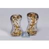 Womens Fancy Yellow Diamond Huggie Earrings 14K Gold 4.66 ct