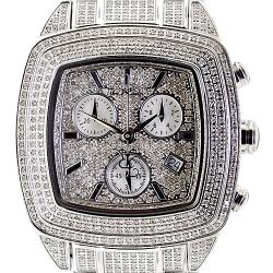 Womens Diamond Watch Joe Rodeo Chelsea JCHE5 13.00 ct Silver