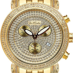 Mens Diamond Watch Joe Rodeo Classic JCL19 1.75 ct Yellow