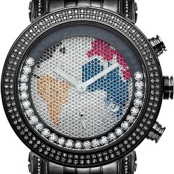 Mens Diamond Black Watch Joe Rodeo Classic JCL29(W) 1.75 ct Map