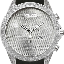 Mens Diamond Watch Joe Rodeo Empire JREM1 2.25 ct Silver