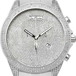 Mens Diamond Watch Joe Rodeo Empire JREM10 2.25 ct Steel