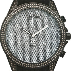 Mens Diamond Black Watch Joe Rodeo Empire JREM4 2.25 ct