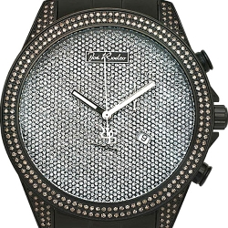 Mens Diamond Watch Joe Rodeo Empire JREM8 2.25 ct Black