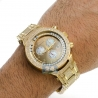 Mens Diamond Watch Joe Rodeo Master JJMS22(W) 4.75 ct Golden