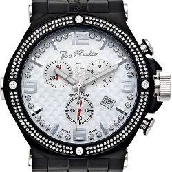 Mens Diamond Watch Joe Rodeo Phantom JPTM28 2.25 ct Black