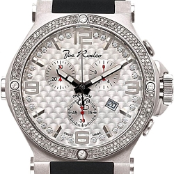 Mens Diamond Watch Joe Rodeo Phantom JPTM68 2.25 ct Silver