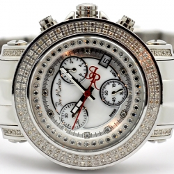 Womens Diamond Watch Joe Rodeo Rio JRO1 1.25 ct White Dial