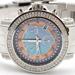 Womens Diamond Watch Joe Rodeo Rio JRO3 1.25 ct Blue Dial