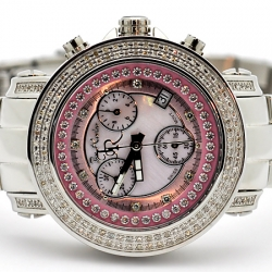 Womens Diamond Watch Joe Rodeo Rio JRO4 1.25 ct Pink Dial