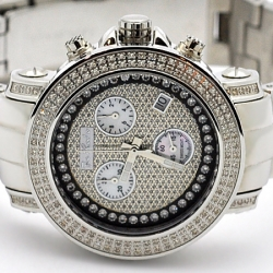 Womens Diamond Silver Watch Joe Rodeo Rio JRO6 1.25 ct