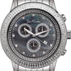 Mens Diamond Watch Joe Rodeo Sicily JRSI10 1.80 ct Black