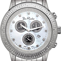 Mens Diamond Watch Joe Rodeo Sicily JRSI9 1.80 ct White
