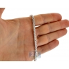 925 Sterling Silver Solid Franco Mens Chain 3.5 mm 24 30 36 inch