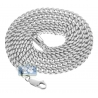 925 Sterling Silver Solid Franco Mens Chain 4 mm 26 30 36 inches