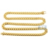 Yellow Sterling Silver Mens Miami Cuban Chain 8.5 mm 26 30 32 inch