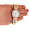 Womens Diamond Watch Aqua Master 0.3 ct Rose Gold