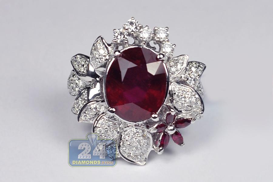 Diamond Heart Ring K White Gold