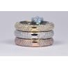 14K 3-Tone Gold 6.35 ct Cushion Diamond Womens Engagement Ring