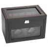 Double Watch Winder Storage 34-702 Diplomat Modena Carbon Fiber