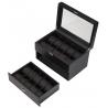 Twenty Watch Display Box 34-710 Diplomat Modena Carbon Fiber