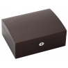 Eight Watch Box Storage 34-721 Diplomat Prestige Ebony Wood