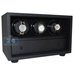 Orbita Insafe 3 Open Front Watch Winder W21507 Black
