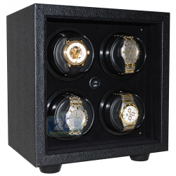 Orbita Insafe 4 Open Front Watch Winder W21609 Black