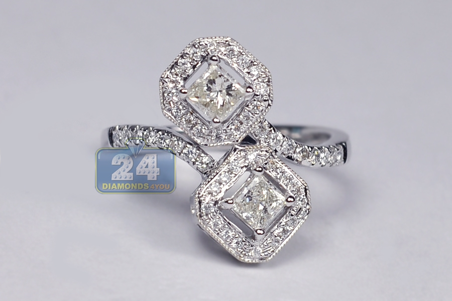 White Gold Diamond Right Hand Rings