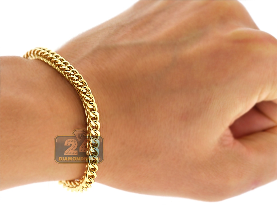 galleriaofgoldllc iced bracelet franco out products