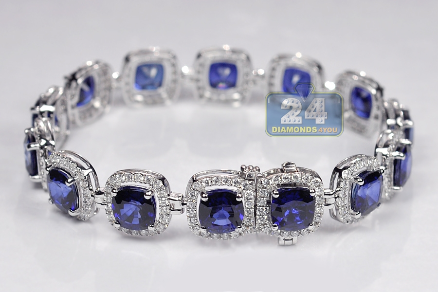 sapphires a with bracelet products bear zazen halo