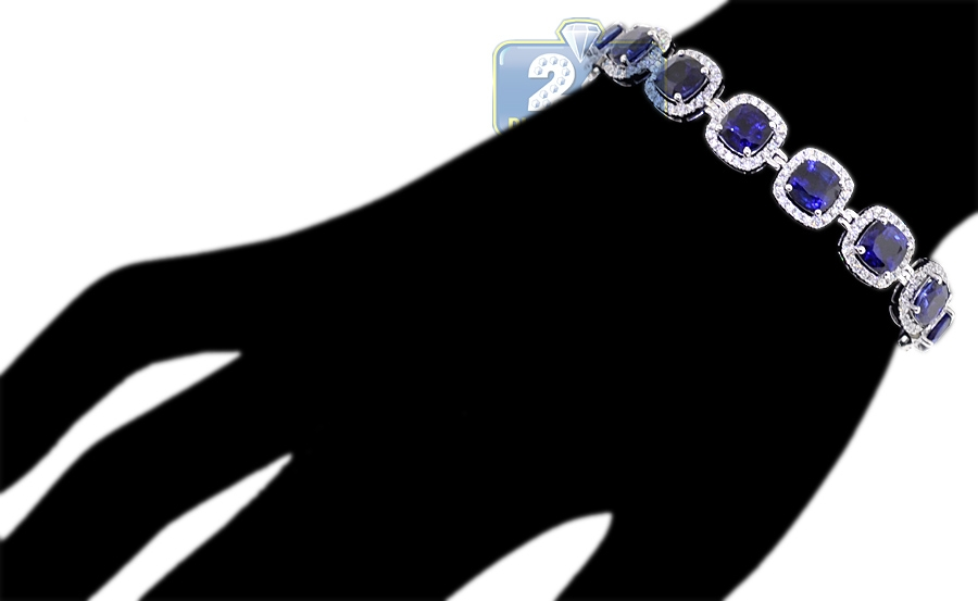 and blue white diamond sapphire bangles p on be park spark bangle bracelet