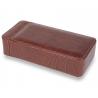 Single Watch Slipcase Travel Box L101 Rapport Portman Brown