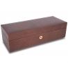 5 Watch Storage Case L263 Rapport Portman Brown Leather