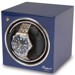 Single Automatic Watch Winder EVO5 Rapport Evolution Blue