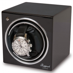 Single Automatic Watch Winder EVO7 Rapport Evolution Black