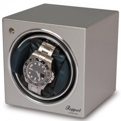 Single Automatic Watch Winder EVO8 Rapport Evolution Silver