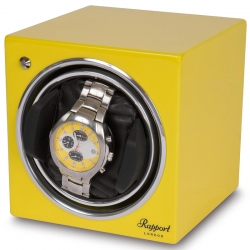 Single Automatic Watch Winder EVO11 Rapport Evolution Yellow